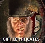 JEKYLL AND HYDE GIFT CERTIFICATES